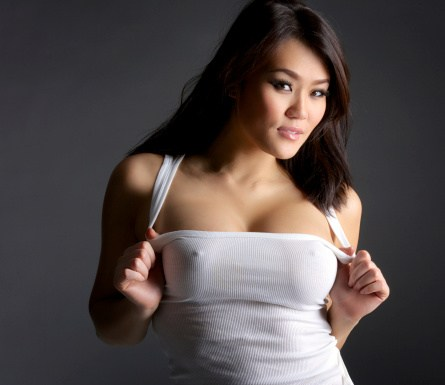 Sexy Asian with Nice Breasts
